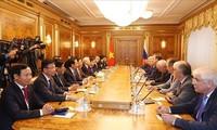 Tổng Bí thư Nguyễn Phú Trọng hội kiến với Chủ tịch Duma Quốc gia Nga
