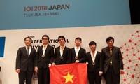 Việt Nam giành huy chương vàng tại Olympic Tin học quốc tế lần thứ 30