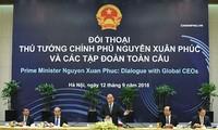 Thủ tướng Nguyễn Xuân Phúc hoan nghênh các tập đoàn toàn cầu cam kết làm ăn lâu dài tại Việt Nam