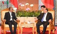 Thủ tướng Nguyễn Xuân Phúc tiếp Bộ trưởng Ngoại giao và Hợp tác Timor-Leste ông Dionisio Babo Soares