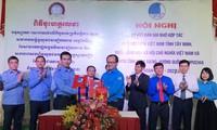 Tăng cường hợp tác giữa thanh niên tỉnh Tây Ninh (Việt Nam) và Svay Riêng (Campuchia)