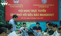 Hội nghị trực tuyến ứng phó với siêu bão Mangkhut