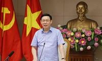Phó Thủ tướng Vương Đình Huệ chủ trì họp Tổng kết đánh giá công tác điều hành giá và kiểm soát lạm phát 9 tháng qua
