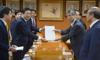 Trưởng ban Nội chính Trung ương Phan Đình Trạc thăm và làm việc tại Nhật Bản