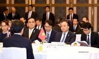 Lãnh đạo các nước Mekong yết kiến Nhà vua Nhật Bản