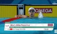 """Olympic trẻ 2018: """"Kình ngư"""" Nguyễn Huy Hoàng đem về chiếc Huy chương vàng thứ 2 cho Việt Nam"""