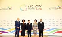 Phó Thủ tướng, Bộ trưởng Ngoại giao Phạm Bình Minh phát biểu tại Hội nghị Cấp cao Pháp ngữ 17