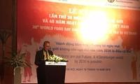 Kỷ niệm lần thứ 38 Ngày Lương thực Thế giới  và 40 năm hoạt động của FAO tại Việt Nam