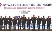 ADMM 12: ASEAN thiết lập mạng lưới ứng phó các thách thức an ninh mới