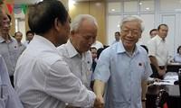 Cử tri đặt niềm tin tuyệt đối vào Tổng Bí thư, Chủ tịch nước Nguyễn Phú Trọng