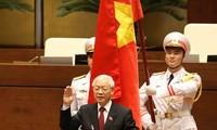 Truyền thông quốc tế đưa tin đậm nét Tổng Bí thư Nguyễn Phú Trọng được bầu giữ chức vụ Chủ tịch nước