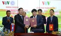 Đài TNVN và Đài Phát thanh quốc gia Lào ký thỏa thuận hợp tác