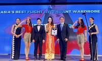 Viejet được vinh danh đồng phục tiếp viên hàng không đẹp nhất châu Á