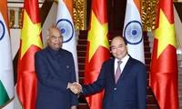 Thủ tướng Nguyễn Xuân Phúc hội kiến Tổng thống Ấn Độ Ram Nath Kovind