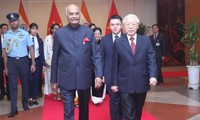 Tổng thống Ấn Độ Ram Nath Kovind kết thúc chuyến thăm cấp Nhà nước tới Việt Nam