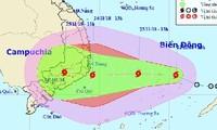 Không chủ quan ứng phó áp thấp nhiệt đới sẽ mạnh lên thành bão