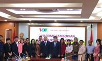 Đài Tiếng nói Việt Nam sẽ tiếp tục hỗ trợ kỹ thuật cho ngành phát thanh của Campuchia