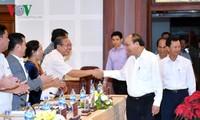 Thủ tướng Nguyễn Xuân Phúc làm việc với lãnh đạo tỉnh Gia Lai