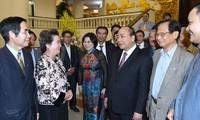 Thủ tướng gặp mặt Hội Quy hoạch Phát triển đô thị Việt Nam
