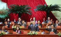 Ngày làm việc thứ nhất Đại hội toàn quốc Hội Nông dân Việt Nam lần thứ VII