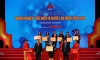 Lễ vinh danh Doanh nghiệp tiêu biểu vì nguời lao động 2018