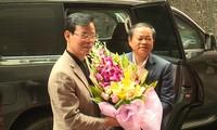Phó Chủ tịch Quốc hội Đỗ Bá Tỵ thăm, làm việc tại Hà Giang