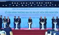 Thủ tướng Nguyễn Xuân Phúc dự Lễ vận hành thương mại Dự án Lọc hóa dầu quy mô 9 tỉ USD.