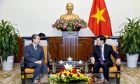 Phó Thủ tướng, Bộ trưởng Ngoại giao Phạm Bình Minh tiếp Đại sứ Trung Quốc tại Việt Nam