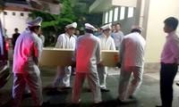 3 nạn nhân Việt Nam tử vong trong vụ đánh bom tại Ai Cập đã được đưa về nước