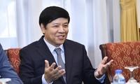 Thứ trưởng Nguyễn Quốc Cường tiếp Đại sứ, Trưởng cơ quan đại diện ngoại giao các nước châu Phi