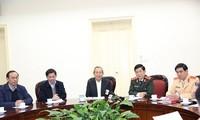 Phó Thủ tướng Thường trực Trương Hòa Bình chỉ đạo các giải pháp về bảo đảm trật tự an toàn giao thông
