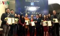 Trao Giải thưởng Âm nhạc Hội Nhạc sĩ Việt Nam năm 2018