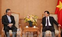 Phó Thủ tướng Trịnh Đình Dũng tiếp Giám đốc Tập đoàn Marubeni, Nhật Bản