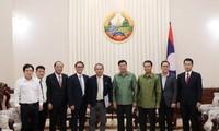 Lào cam kết tạo điều kiện cho doanh nghiệp Việt Nam phát triển nông nghiệp bền vững