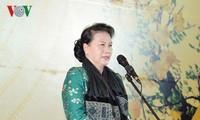 Chủ tịch Quốc hội Nguyễn Thị Kim Ngân chúc Tết lãnh đạo Quốc hội và Văn phòng Quốc hội