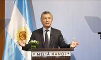 Tổng thống Cộng hòa Argentina kết thúc chuyến thăm cấp Nhà nước tới Việt Nam