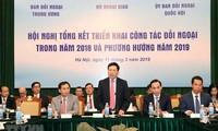 Nâng cao hơn nữa hiệu quả của công tác đối ngoại trong năm 2019