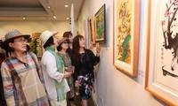 Lần đầu tiên tổ chức Triển lãm giao lưu Mỹ thuật quốc tế Hàn Quốc – Việt Nam