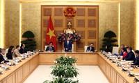 Phó Thủ tướng Vũ Đức Đam gặp mặt Hội đồng doanh nghiệp vì sự phát triển bền vững