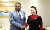 Chủ tịch Quốc hội Nguyễn Thị Kim Ngân tiếp Tổng Thư ký Liên minh Nghị viện thế giới
