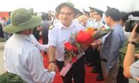Đón đoàn khách quốc tế đến với Quảng Trị bằng đường biển