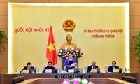 Khai mạc phiên họp 33 Ủy ban Thường vụ Quốc hội