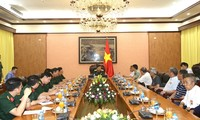 Lãnh đạo Tổng cục Chính trị tiếp Ðoàn Cựu chiến binh và thân nhân liệt sĩ Trung Quốc từng giúp đỡ Việt Nam
