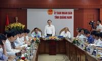 Phó Chủ tịch Quốc hội Phùng Quốc Hiển làm việc với tỉnh Quảng Nam