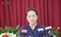 Chủ tịch Quốc hội tiếp xúc cử tri tại quận Cái Răng, TP Cần Thơ