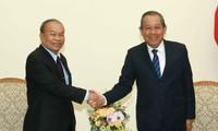 Việt Nam - Campuchia: Láng giềng tốt đẹp, hữu nghị truyền thống, hợp tác toàn diện