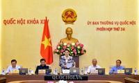Khai mạc phiên họp 34 Ủy ban Thường vụ Quốc hội