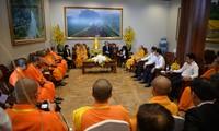 Phật giáo Việt Nam đoàn kết cùng Phật giáo các nước xây dựng thế giới hòa bình