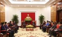 Trưởng Ban Tuyên giáo Trung ương Võ Văn Thưởng tiếp Đoàn đại biểu Đoàn Thanh niên Lào