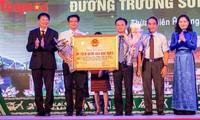 Đón nhận bằng xếp hạng Di tích Quốc gia đặc biệt Đường Trường Sơn-Đường Hồ Chí Minh